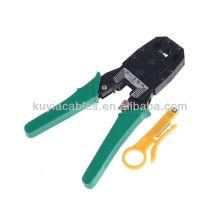 NAGELNEUES PREMIUM Crimpwerkzeug für RJ45 Modulstecker 6C & 8C Ratchet Typ