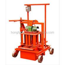 QM2-45 Insulated concrete block making machine hand operated hollow block machine