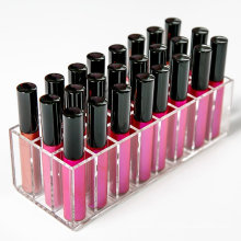 Acrylic Lip Gloss Holder with 24 Slots