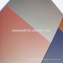 Panneau composé en aluminium du rêve X pour la décoration de mur rideau