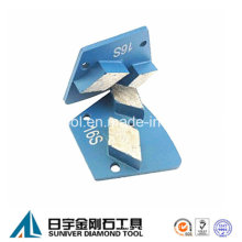 Rhombus Concrete Trapezoid Diamond Grinding Segment