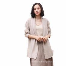 Herbst und Winter neue Frauen Pullover Größe 100% Kaschmir-Pullover Frauen lange Abschnitt aus reinem Kaschmir Strickjacke Schal