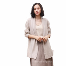 Autumn and winter new women sweater large size 100%cashmere sweater women long section of pure cashmere knitted jacket shawl