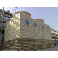 Torre de refrigeración cuadrada con contador de flujo serie JFT