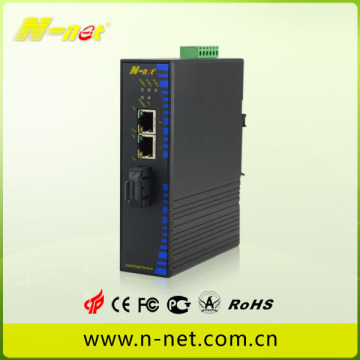 industrial gigabit media converter