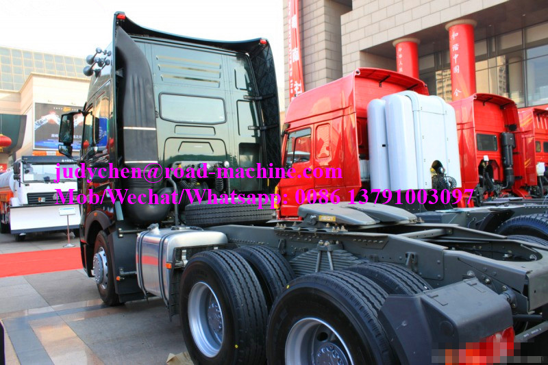 HOWO6x4 tractor truck back