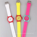 new arrival silicone girls watches, blank dial watch