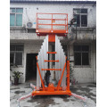 Single Mast Portable Aluminum Work Platform