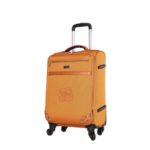 Colourful ultra light aluminum troli EVA luggage