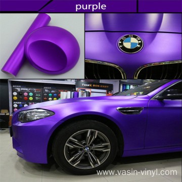 Matte Chrome Vinyl Car Wrap Film