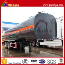 Remolque del tanque de asfalto de triple eje de 38 M3 de capacidad