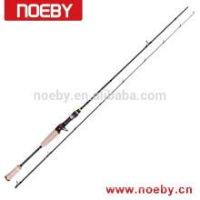 NOEBY carbono corajosa IM8 fibra carcaça sólida varas de pesca haste de peixes