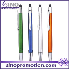 Click Ballpoint Pen with Rubber Tip Pen Multi-Function Pen