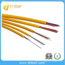 Câble de fibre optique à distribution intérieure de 4 à 24 cœurs avec tampon étanche de 0,9 mm