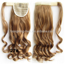 Factory price Virgin human hair Claw clip ponytail for sale