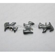 01P1006S / кулон формы собаки / шарм собаки / приспособление собаки / вспомогательное оборудование формы собаки с серебряным находить