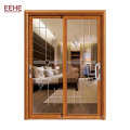 Powder Coated Aluminum 96 x 80 Sliding Glass Door For Bedroom