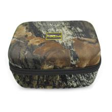 Équipement de fabricant dur cas de camouflage eva zipper pour engins de pêche