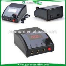 Getbetterlife Dual LCD Digital fuente de alimentación para el trazador de líneas y sombreado pistola tatuaje poder suministrar para la venta