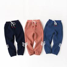 Pantalon en micro-polaire pour enfants avec cordon de serrage