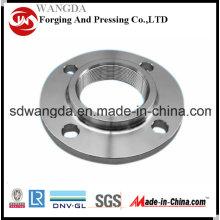 Medida ANSI roscada atornillada carbono brida de acero