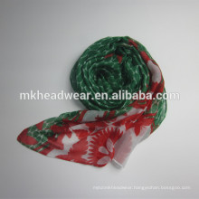 cheap poly voile scarf