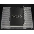 Transparente Luftkissenbeutel für 12 '' Laptop