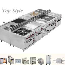 Equipo de cocinar 2017 de los tallarines eléctricos / de gas / para la sopa / la plancha