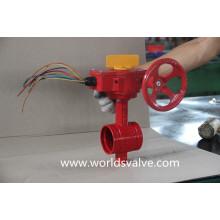 Válvula Borboleta com Conexão Ranhurada (WDS01)