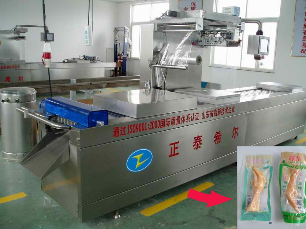 Moon Cake Automatic Vacuum Packing Machine