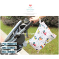 Bolsa de viaje para bebé, impermeable, lavable, poliéster, pañal, pañal