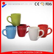 Weiße Porzellan-Becher Großverkauf, keramische Kaffeetasse / Großhandelskeramische Becher-Schalen