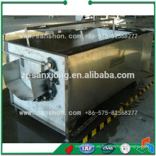 Máquina para lavar y pelar papas
