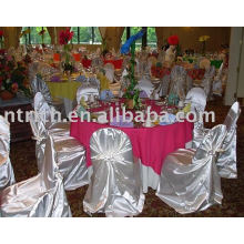 Satin bag chair cover, Self-tie/Universal Chair Cover, Banquet/hotel chair cover