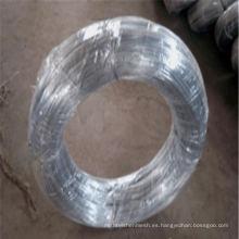 Alambre de hierro galvanizado / alambre caliente del corte (fábrica del fabricante)