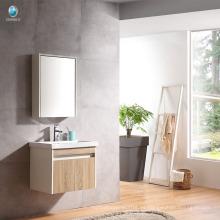 VT-086 gabinete de baño de madera contrachapada único lavabo gabinete muebles de baño del hotel