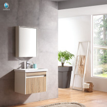 VT-086 Plywood bathroom cabinet single basin cabinet hotel bathroom furniture