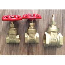 Factory Sales Brass Control Gate Valve with Iron Handle (YD-3005-1)