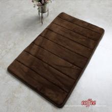 Mousse de mémoire Anti fatigue Mat Microfibre antidérapant tapis de yoga