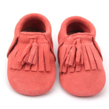 Fashion Wholesale Mix Colors Fancy Soft Leather Baby Shoes
