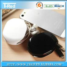 logotipo regalos promocionales auricular jaula inteligente / enrollador de retroceso