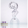 Crystal Dancer Girl For Home Decoration
