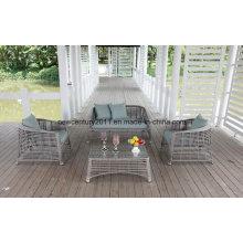 Outdoor und Garten Liebe Rattan Sofa Set