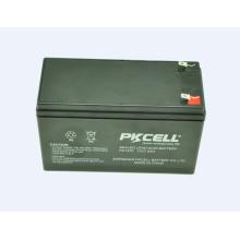 Batterie d'acide de plomb 12V 7Ah VRLA pour la batterie d'acide de plomb d'UPS 12V 7Ah VRLA pour l'UPS
