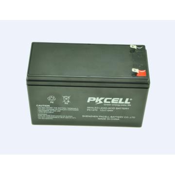 bateria recarregável acidificada ao chumbo 12v