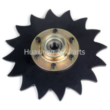 "8"" Notched Covering Disc Blade"
