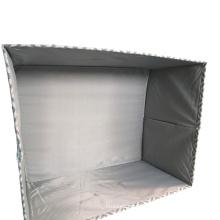 Bolsa de armazenamento cinza resistente