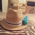 2017 Factory Wholesale Custom Ladies Elegant Hats Straw Hat For Female