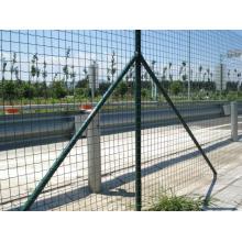 Folha soldada de aço inoxidável da rede de arame para a cerca, construção
