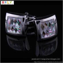 VAGULA Diamond nouvelle chemise boutons de manchette (Hlk31443)